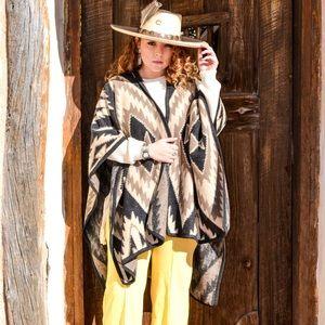 37b20a481bf Sweaters - Southwestern Aztec poncho cape